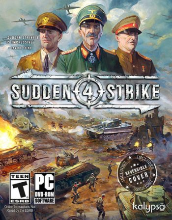 Sudden Strike 4 [v 1.12.28520 + 4 DLC] (2017) PC | Лицензия